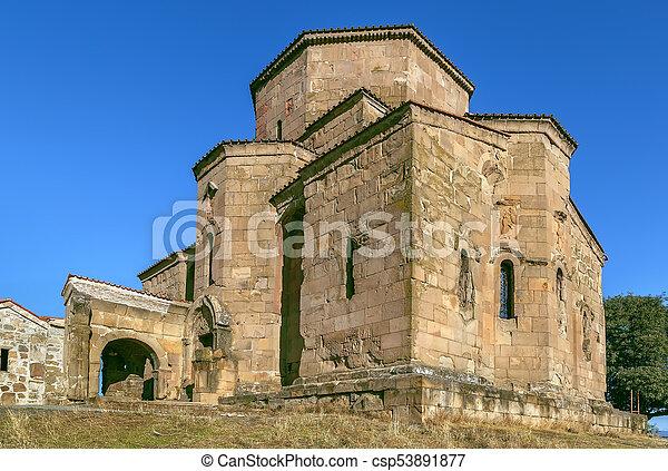 Monasterio Jvari, Georgia - csp53891877
