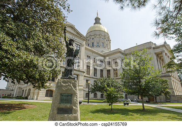 Georgia State Capital - csp24155769