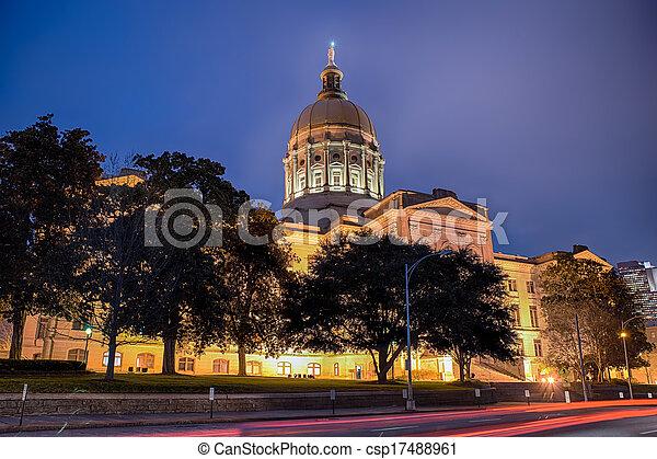 Georgia state capitol building - csp17488961