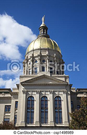 Georgia State Capitol Building. - csp1498989