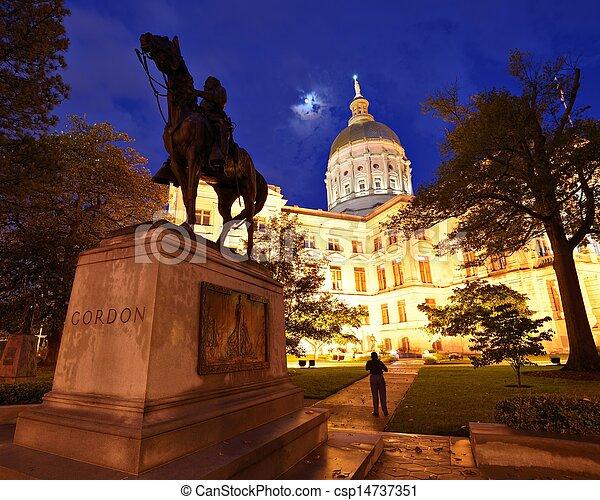 Georgia State capitol - csp14737351