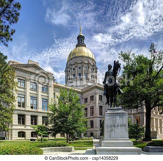 Georgia State capitol - csp14358229