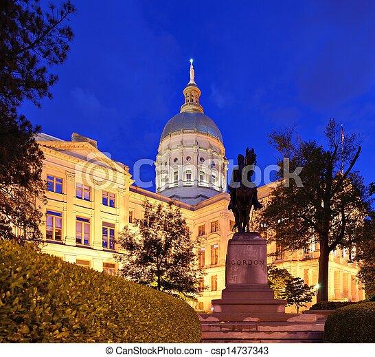 Georgia State capitol - csp14737343