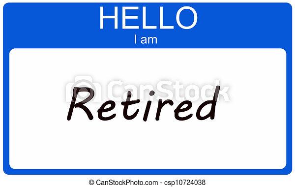 gepensioneerd, hallo - csp10724038