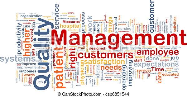 gerência, conceito, qualidade, fundo - csp6851544