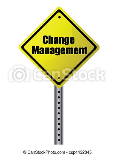 gerência, mudança - csp4432845