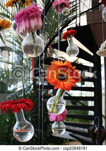 gerbera flower - csp23848191