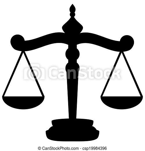 Waage der Gerechtigkeit - csp19984396
