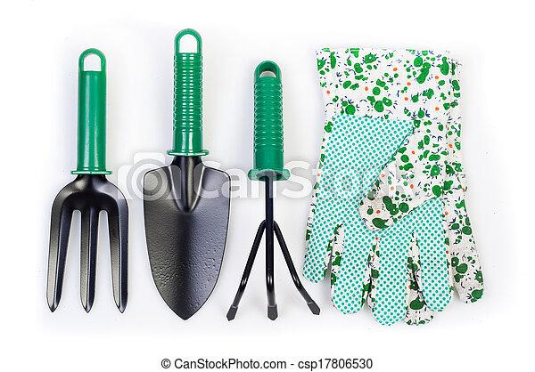 gereedschap, tuin - csp17806530
