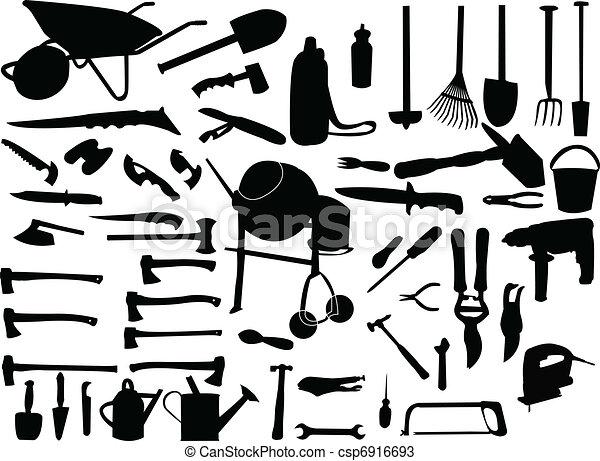 gereedschap, verzameling - csp6916693