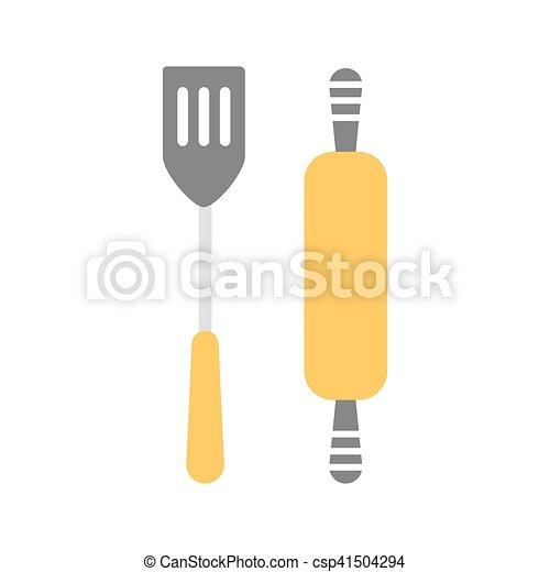 gereedschap, verzameling, keuken - csp41504294