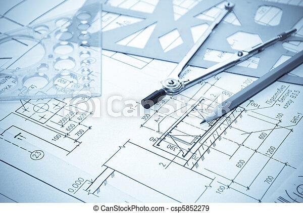gereedschap, werkende  - csp5852279