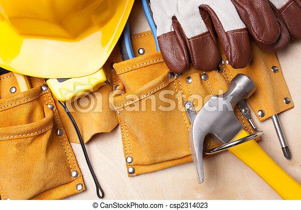 gereedschap, werkende  - csp2314023