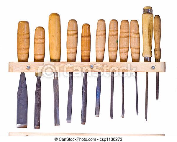 gereedschap, woodworking - csp1138273