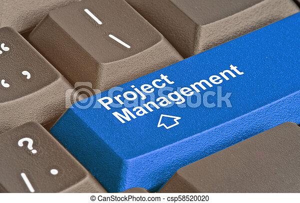Teclado con llave para el manejo del proyecto - csp58520020