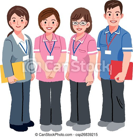 geriatric care manager and social workers full length vector rh canstockphoto com social worker clip art free social worker clipart