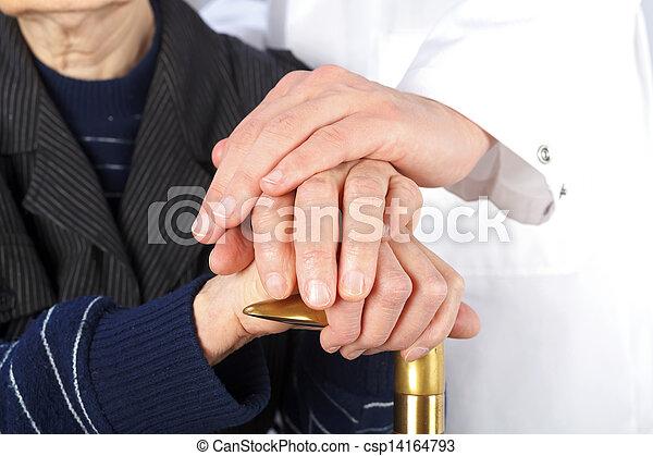 Geriatrics and elderly care - csp14164793