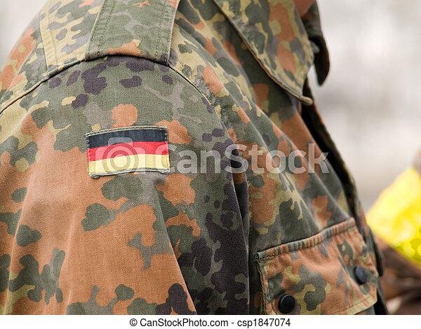 German camouflage - csp1847074