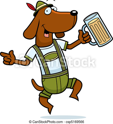 german dog a happy cartoon german dog dancing and smiling rh canstockphoto com germany clip art german clipart