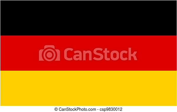 german flag and language icon isolated vector illustration vector rh canstockphoto com german flag clip art free germany flag clipart