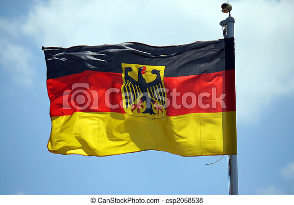 german flag - csp2058538
