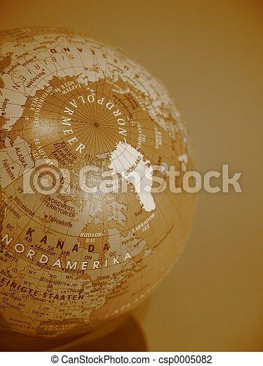 German Globe - csp0005082