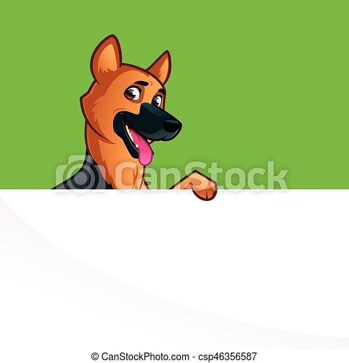 German Shepherd - csp46356587
