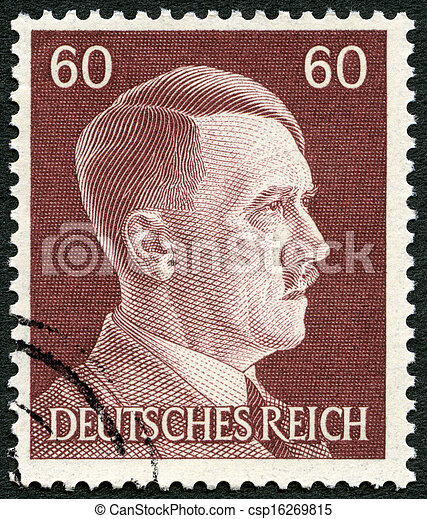 GERMANY - 1941: shows Adolph Hitler (1889-1945) - csp16269815