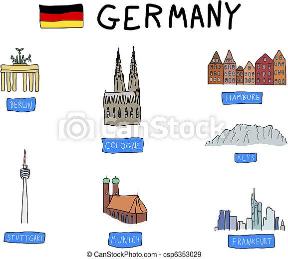 Germany - csp6353029