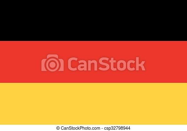 Germany Flag - csp32798944