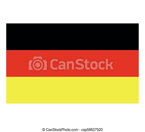 Germany flag - csp58637520