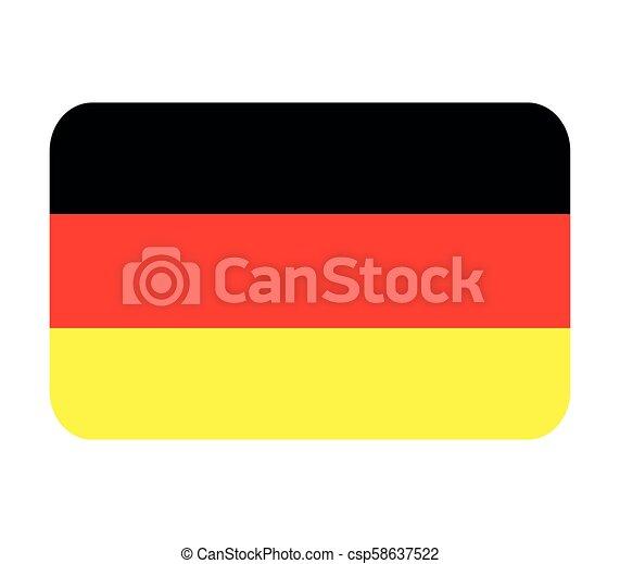 Germany flag - csp58637522