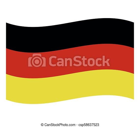 Germany flag - csp58637523