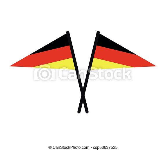 Germany flag - csp58637525