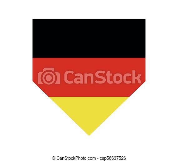 Germany flag - csp58637526