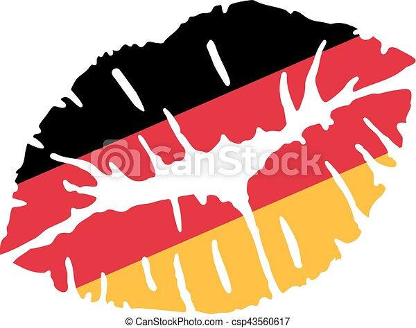 germany flag kiss vector clip art search illustration drawings rh canstockphoto ie germany clipart map germany clipart free