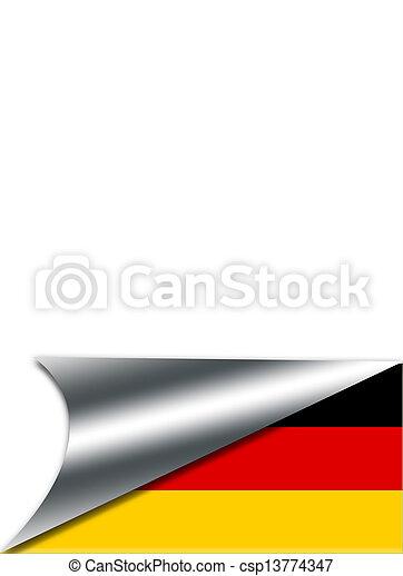 Germany flag. - csp13774347