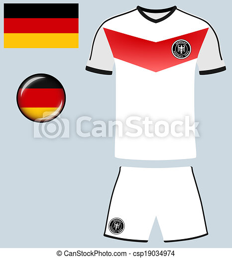size 40 f34ae 55ef3 Germany Football Jersey
