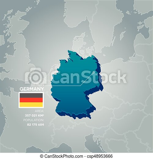Country Of Germany Map.Germany Information Map
