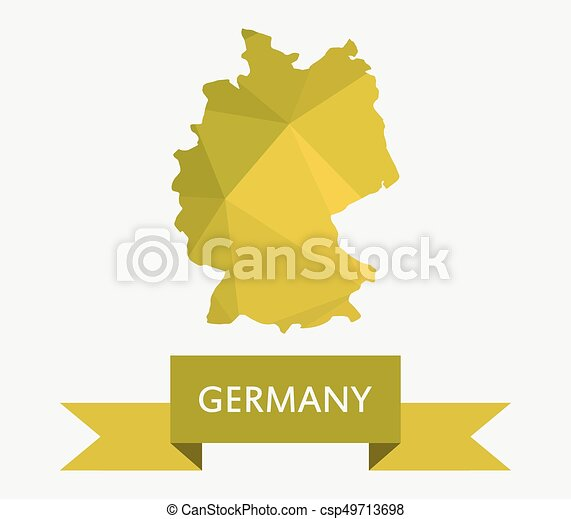 EPS Vectors Of Germany Map Csp Search Clip Art - Germany map eps