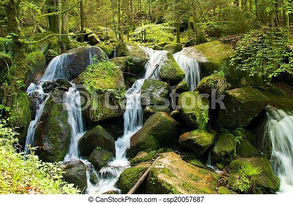 Gertelbach Waterfalls - csp20057687