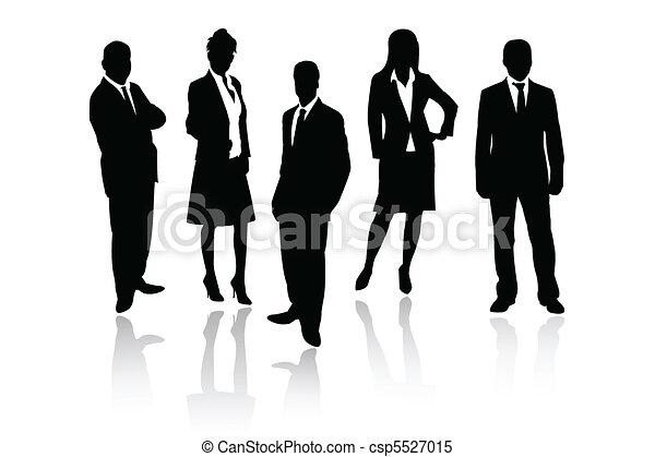 Geschäftsmannschaft - csp5527015