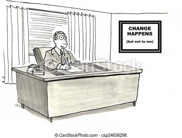 Change Management - csp24636298