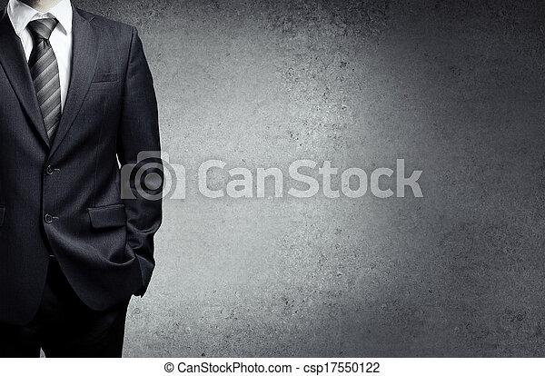 Geschäftsmann in Anzug - csp17550122