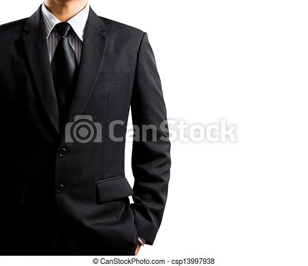 Geschäftsmann in Anzug - csp13997938