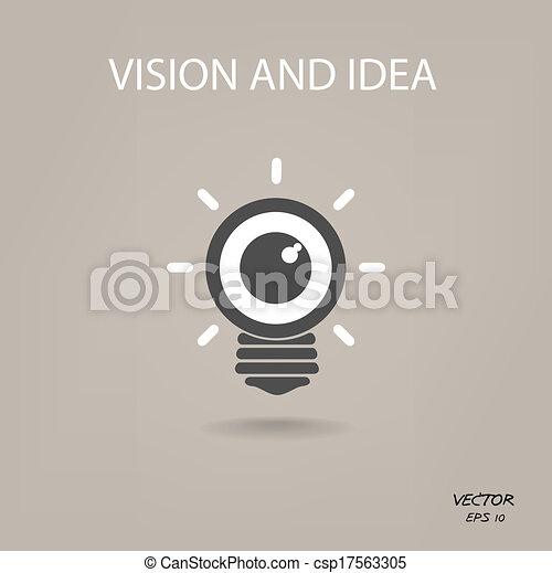 Geschäftsvorzeichen, licht, symbol, ideen, zeichen, zwiebel ...