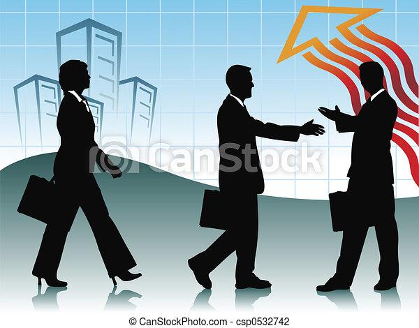 Geschäftlich - csp0532742
