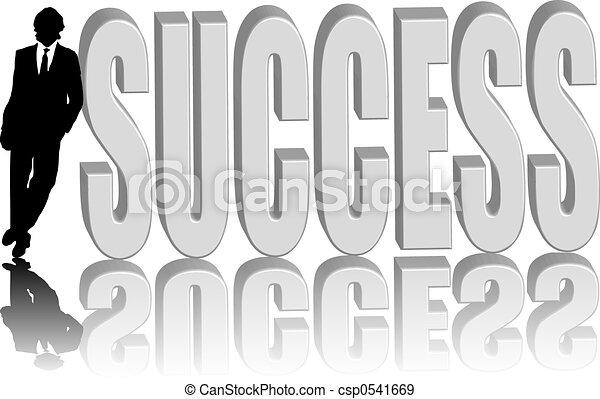 Geschäftsleute erfolgreich - csp0541669