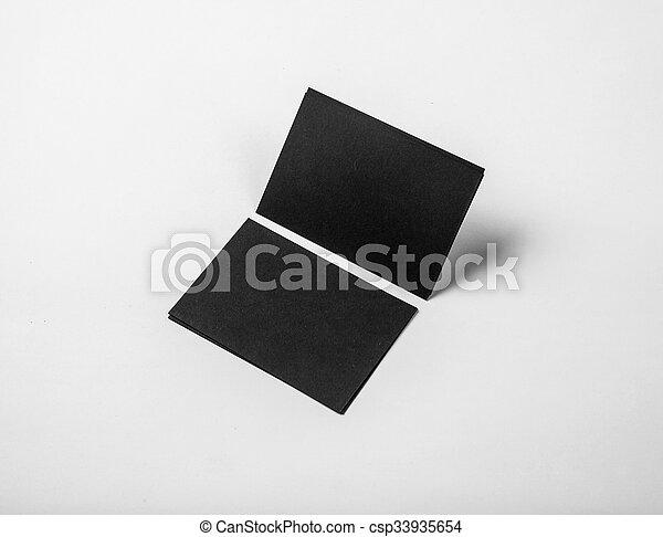 Geschaeftswelt Firma Weißes Schablonen Hintergrund Design Schwarz Karten Horizontal Korporativ Style Identität