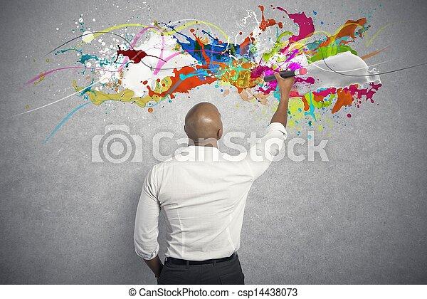Kreatives Geschäft - csp14438073